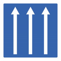 Panneau indication conditions particulières C24a