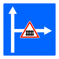 Panneau indication conditions particulières C24c