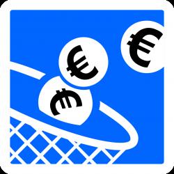 Panneau indication paiement automatique par pièces de monnaie C64c1