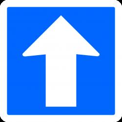 Panneau indication temporaire circulation à sens unique CK12