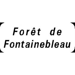 Panneau directionnel localisation de tous les lieux traversés par la route E31b