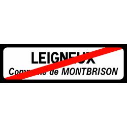 Panneau de localisation sortie d'agglomération EB20-3