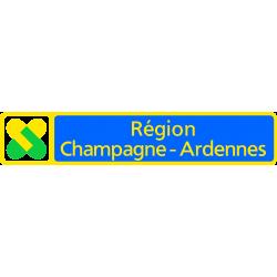 Panneau de localisation région administrative E36b