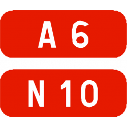 Cartouches à fond rouge E42