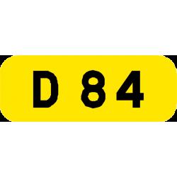 Cartouches à fond jaune E43