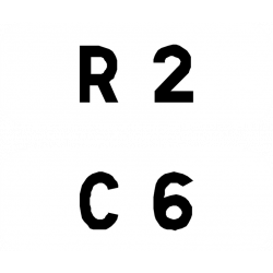 Cartouches à fond blanc E44