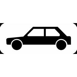 Panonceau désigne les véhicules M4a
