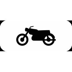 Panonceau désigne les motocyclettes M4c