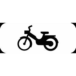 Panonceau désigne les cyclomoteurs M4d2