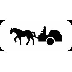 Panonceau désigne les véhicules à traction animale M4s