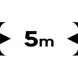Panonceau désigne la largeur M4u