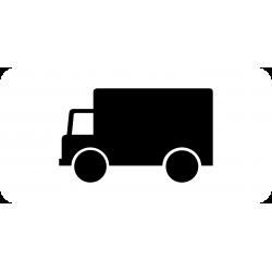 Panonceau transport de marchandises M4g