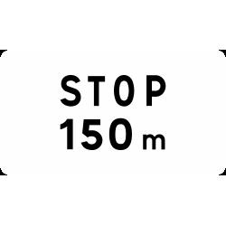 Panonceau distance M5a