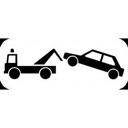 Panonceau stationnement arrêt gênant M6a