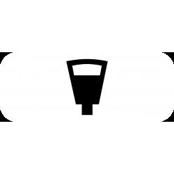 Panonceau stationnement payant parcmètre M6d1