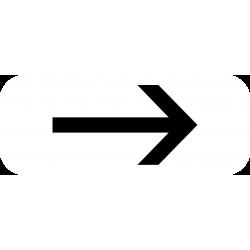 Panonceau prescriptions stationnement et arrêt M8d