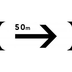 Panonceau prescriptions stationnement et arrêt M8dbis