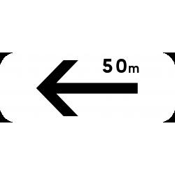 Panonceau prescriptions stationnement et arrêt M8ebis