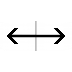 Panonceau prescriptions stationnement et arrêt M8f