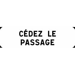 Panonceau cédez le passage M9c