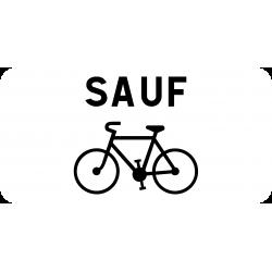 Panonceau prescription s'applique pas aux cyclistes M9v2