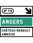 Panneaux de signalisation avancée