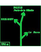 Panneaux de présignalisation - Dv40 Présignalisation