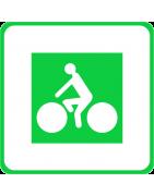 Panneau d'identification et de jalonnement d'itinéraire cyclable
