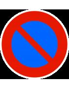 Panneau relatif au stationnement et aux zones de stationnement