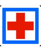 Panneau de signalisation d'indication des services - CE Services
